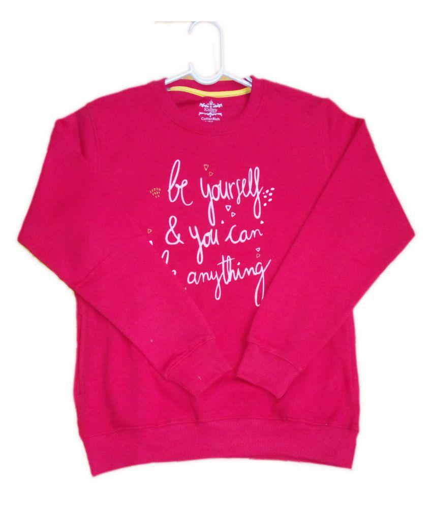 Vastra Vinod Full Sleeve Sweatshirt For Girls