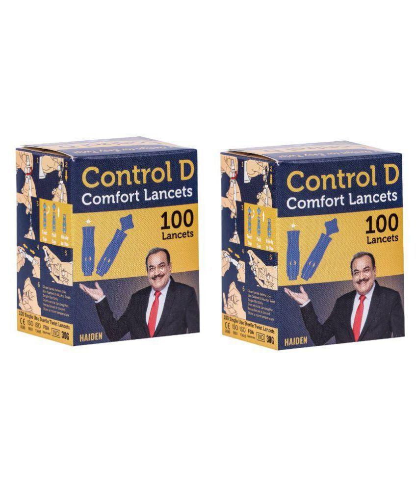 Control D 200 Round Comfort Lancets 101-200