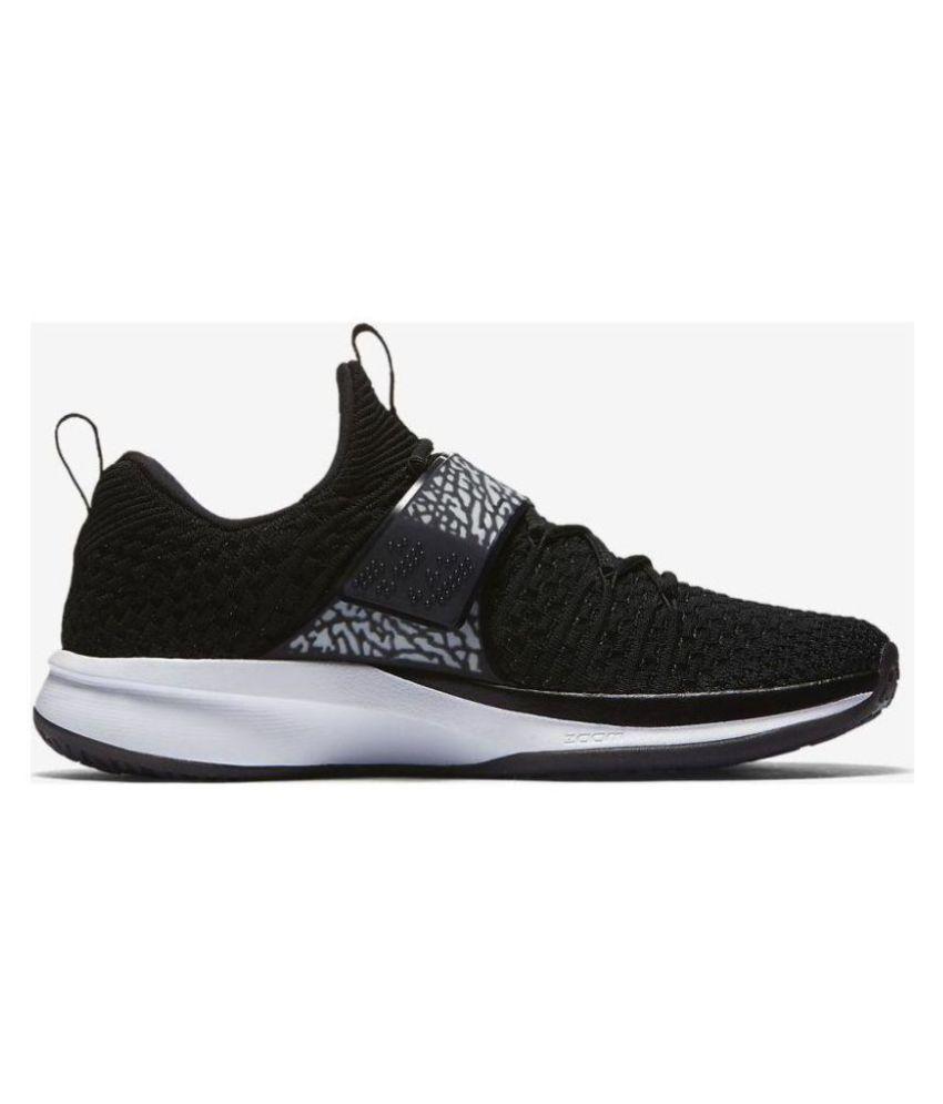 promo code dd671 29ad8 Nike Air Jordan Trainer 2 Flyknit Black Basketball Shoes