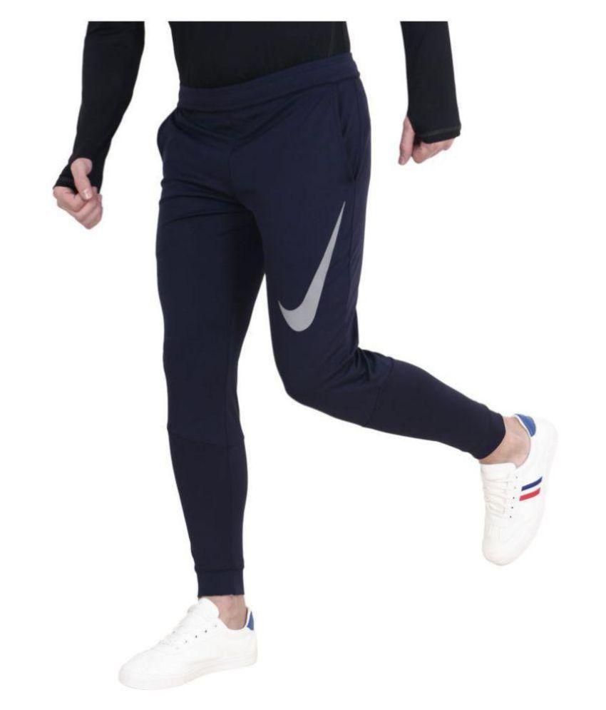 Nike Black Lycra Trackpants