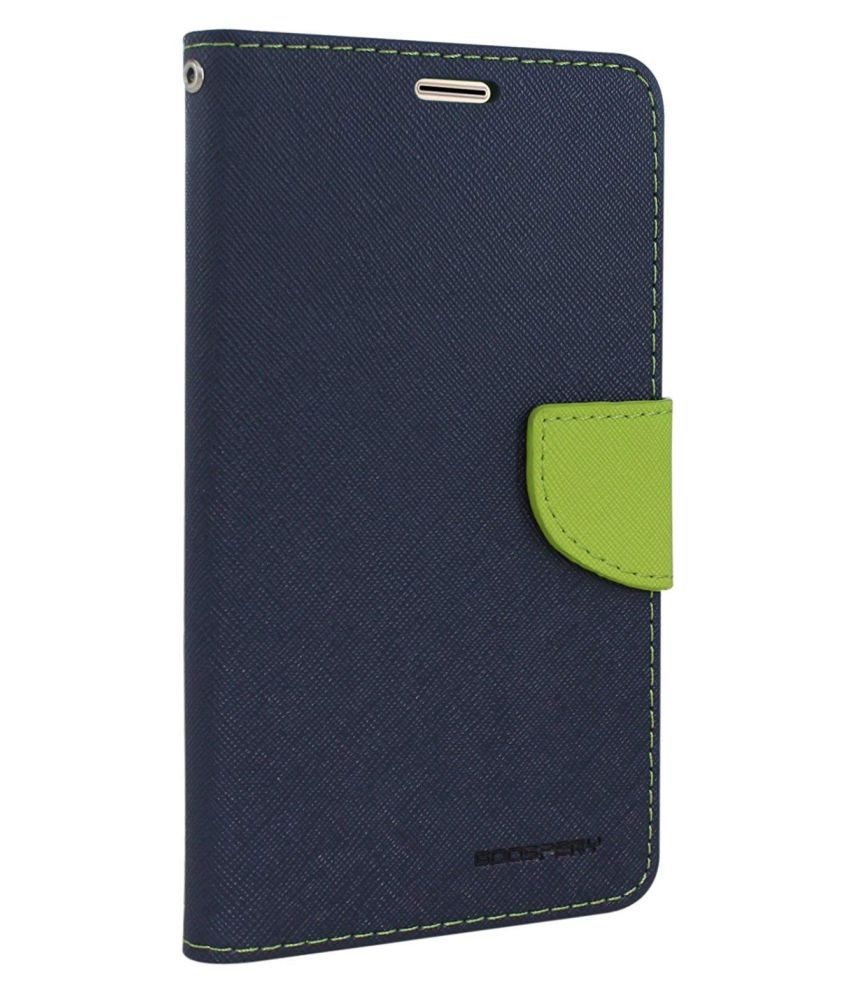 Honor 7C Flip Cover by REGLET - Blue