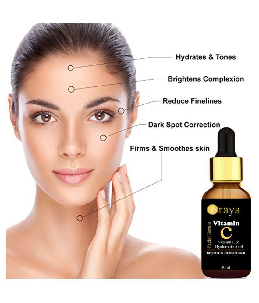 ORAYA Vit C, E & Hyaluronic Acid Face Serum 30 ml