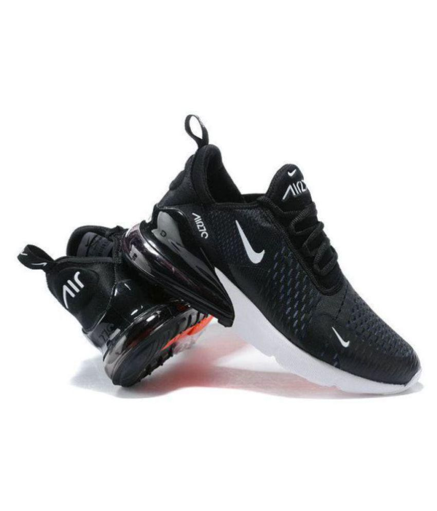 Nike 1 Air Max 27C Running Shoes Black For Gym Wear
