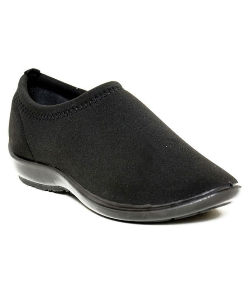 Gliders By Liberty Black Casual Shoes