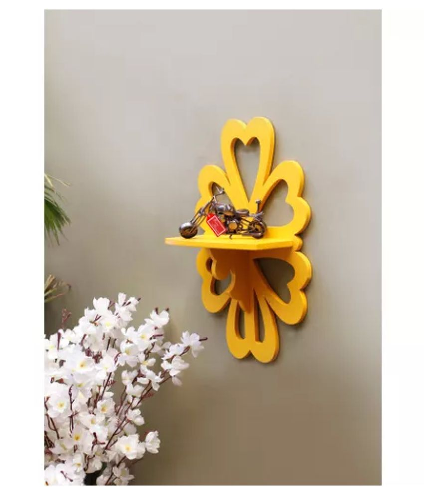 Onlineshoppee Yellow Wood - Pack of 1