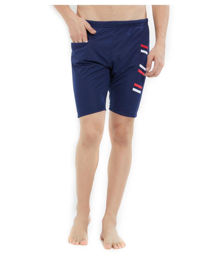 LIMEE Navy Nylon Swimsuit