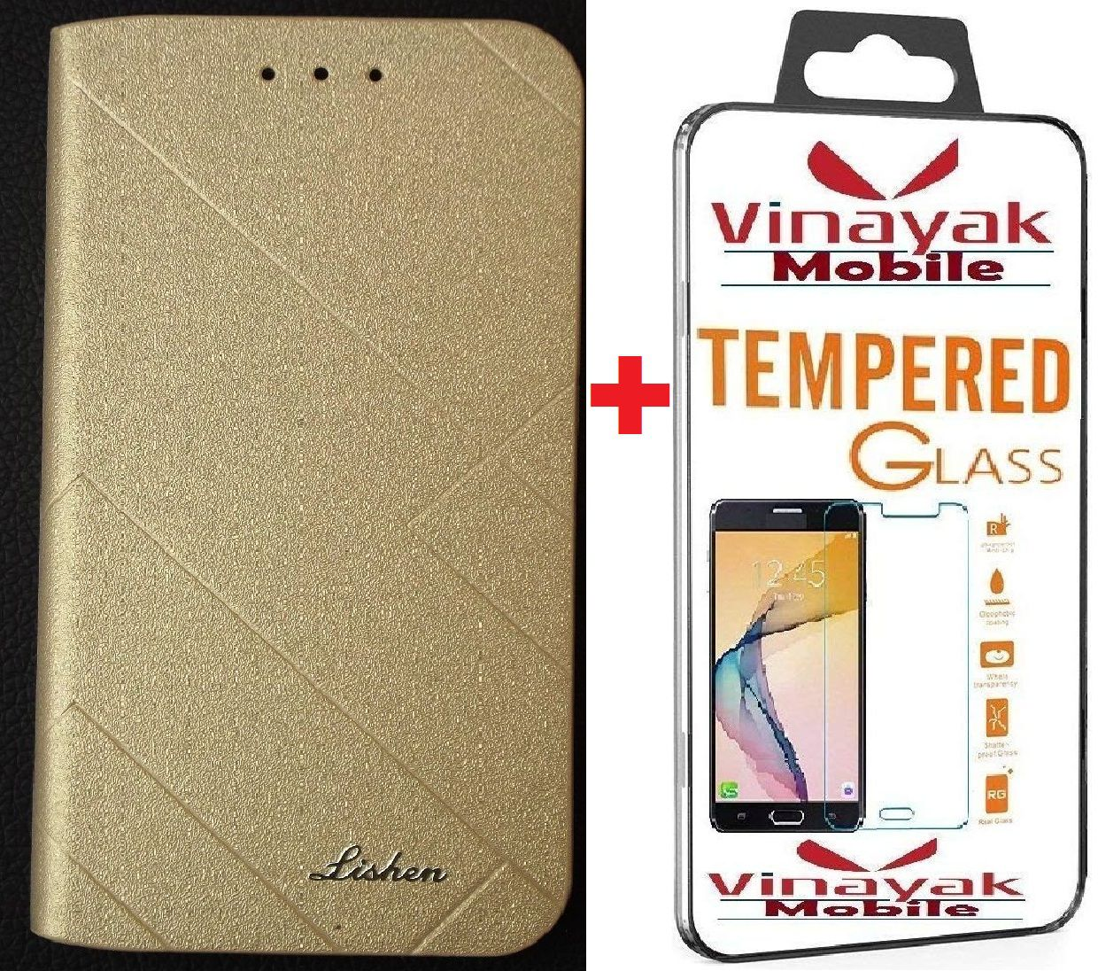 Huawei Enjoy 7S Cover Combo by VinyakMobile Lishen Cover Combo
