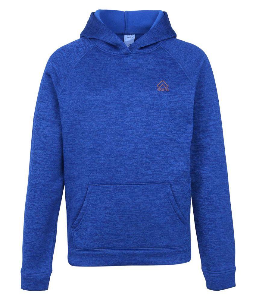 Aurro Full Sleeve Solid Boys Sweatshirt