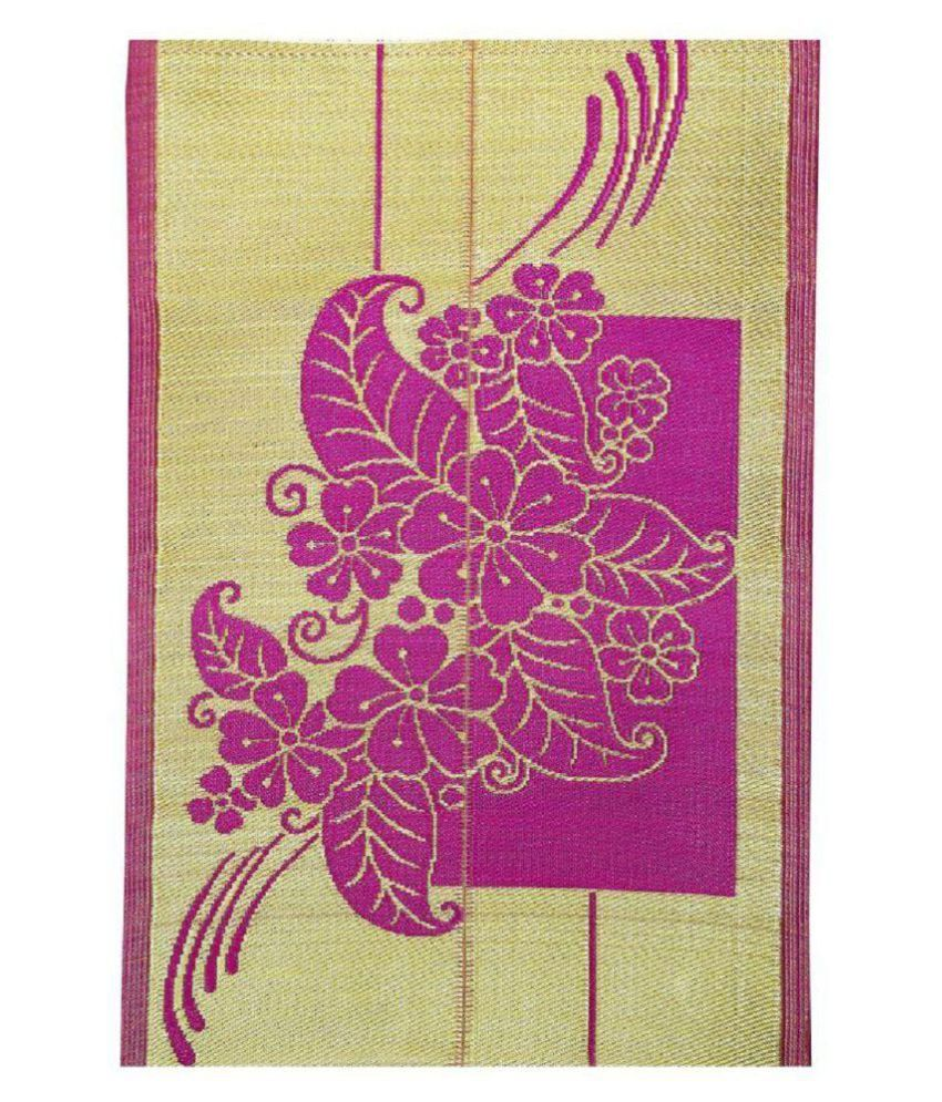karanja Pink Single Regular Floor Mat