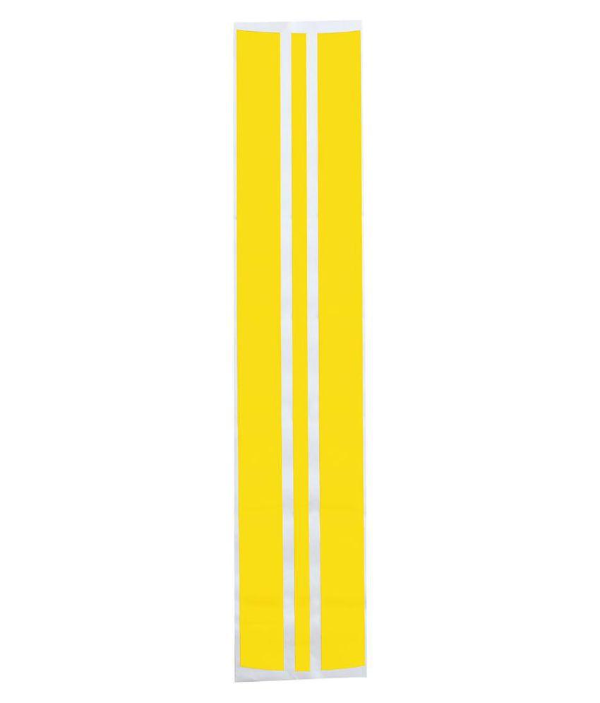 130x25cm PVC Pinstripe Decals Sticker Auto Hood Scratched