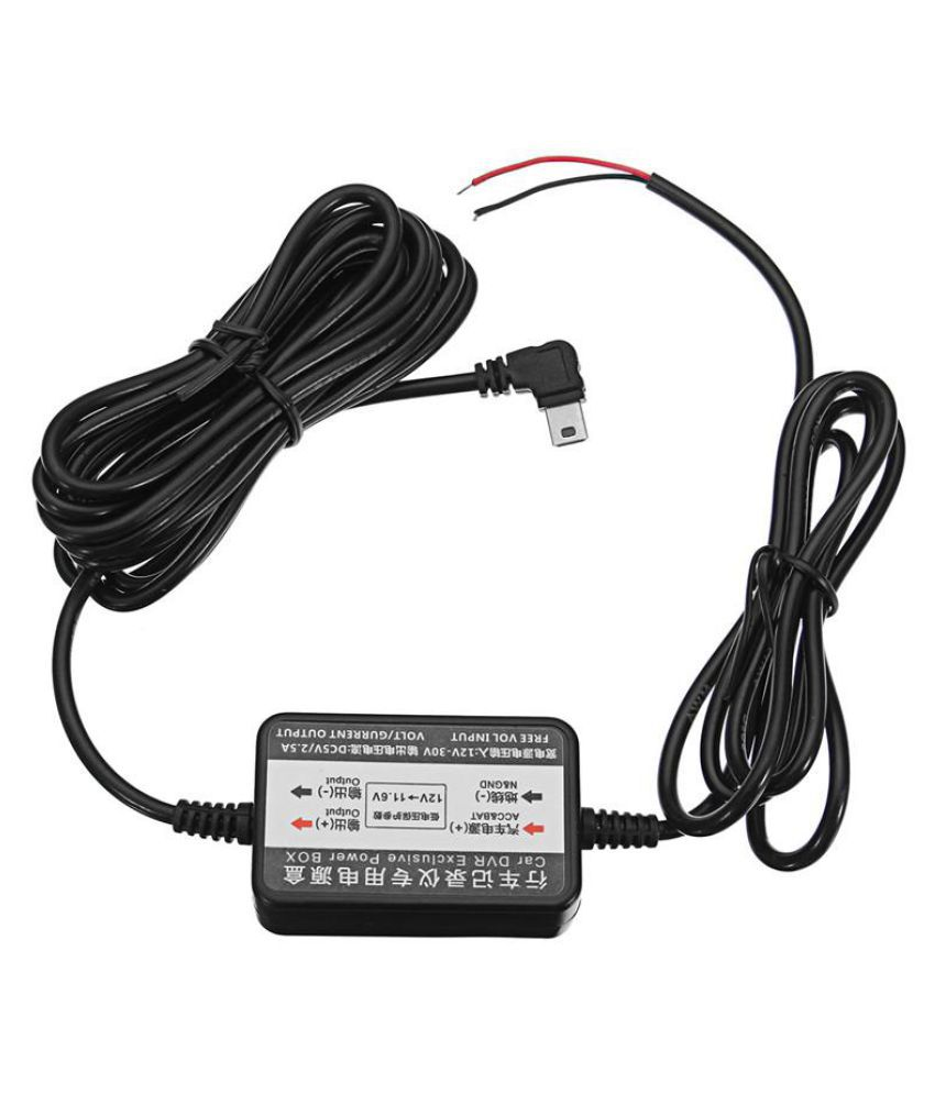 car gps dvr camera adapter dc12/24v to 5v 2a inverter converter micro mini  usb