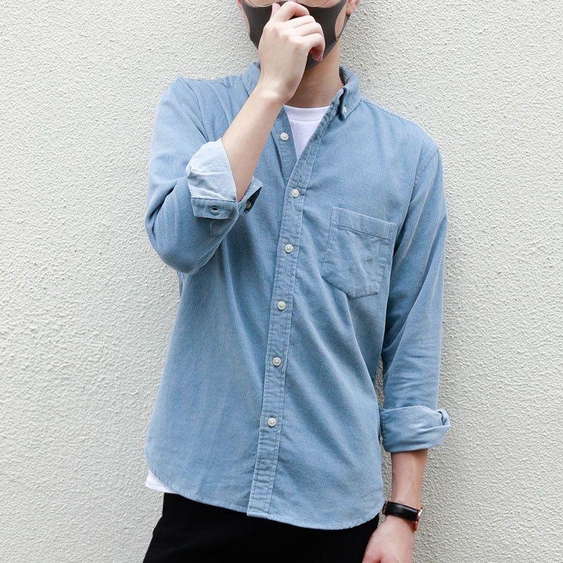 Haorun Blue Full Sleeve T-Shirt Pack of 1