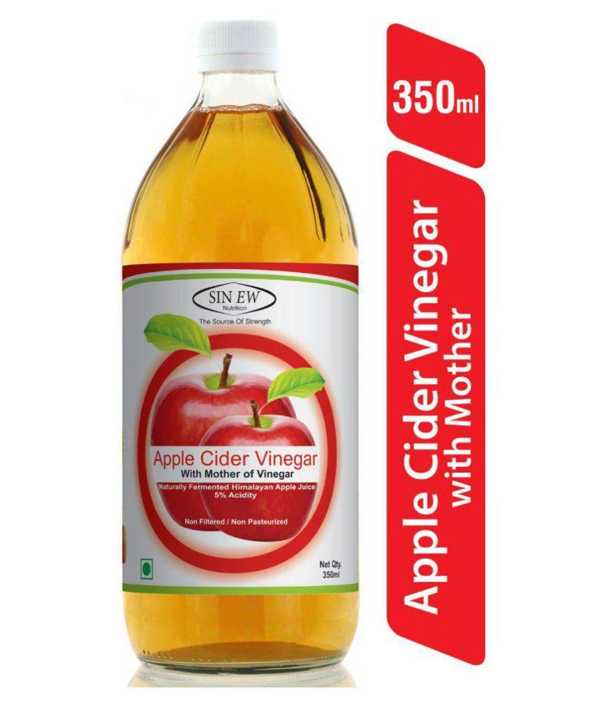Sinew Nutrition Apple Cider Vinegar With Mother 350 ml Unflavoured