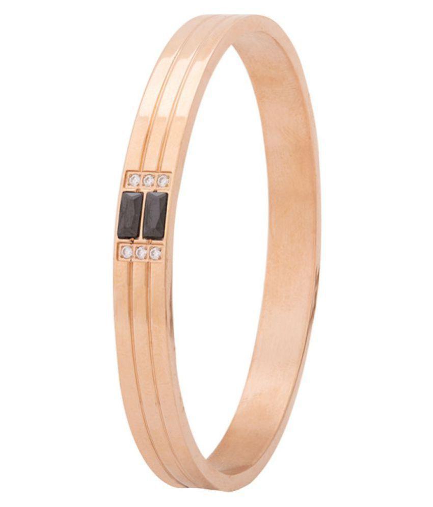 Dare Rose Gold Stainless Steel Bracelets