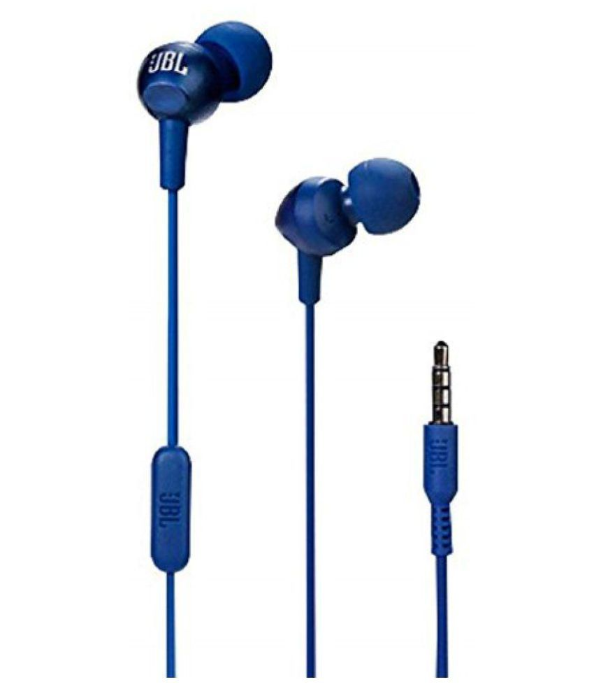 c9b81375784 JBL C200SI In Ear Wired Earphones With Mic - Buy JBL C200SI In Ear Wired  Earphones With Mic Online at Best Prices in India on Snapdeal
