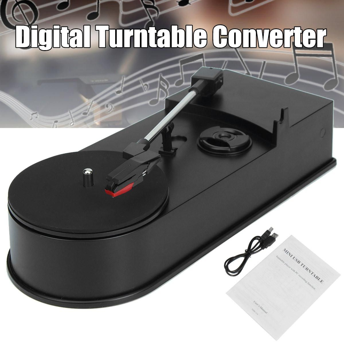 Buy Digital Turntable Converter Record Player LP To MP3 CD USB Flash
