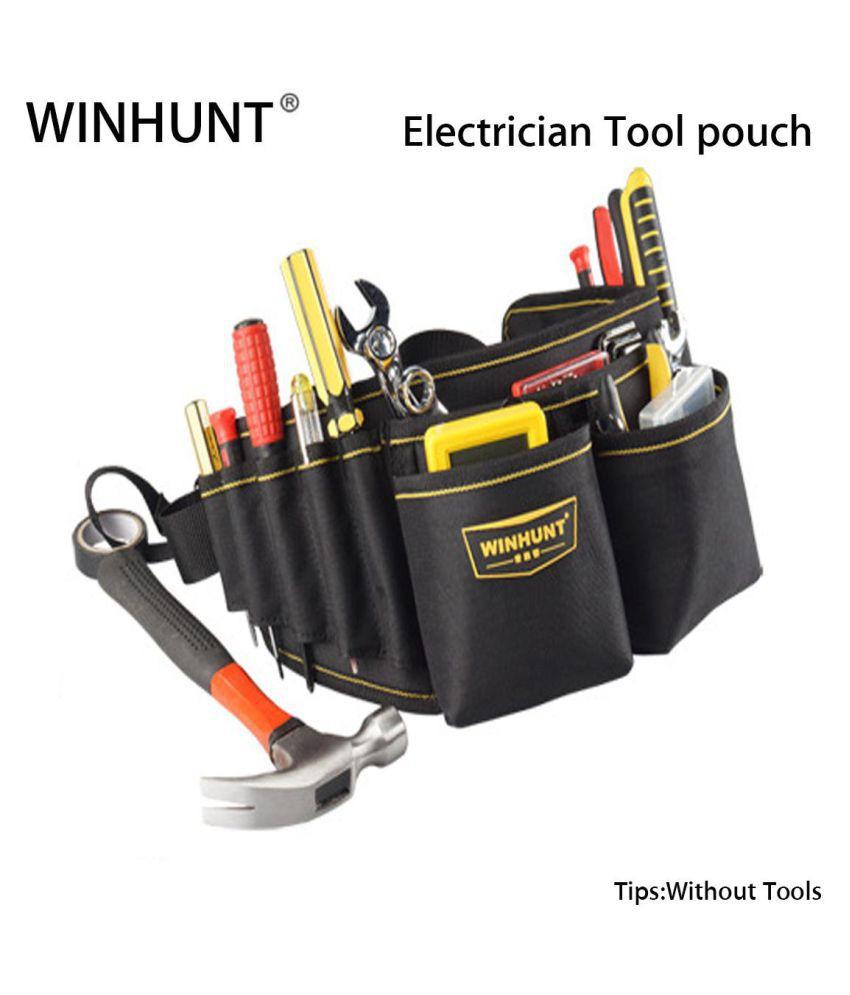 6870f794631a WINHUNT Electrician Waist Pocket Tool Belt Pouch Bag Screwdriver Kit ...