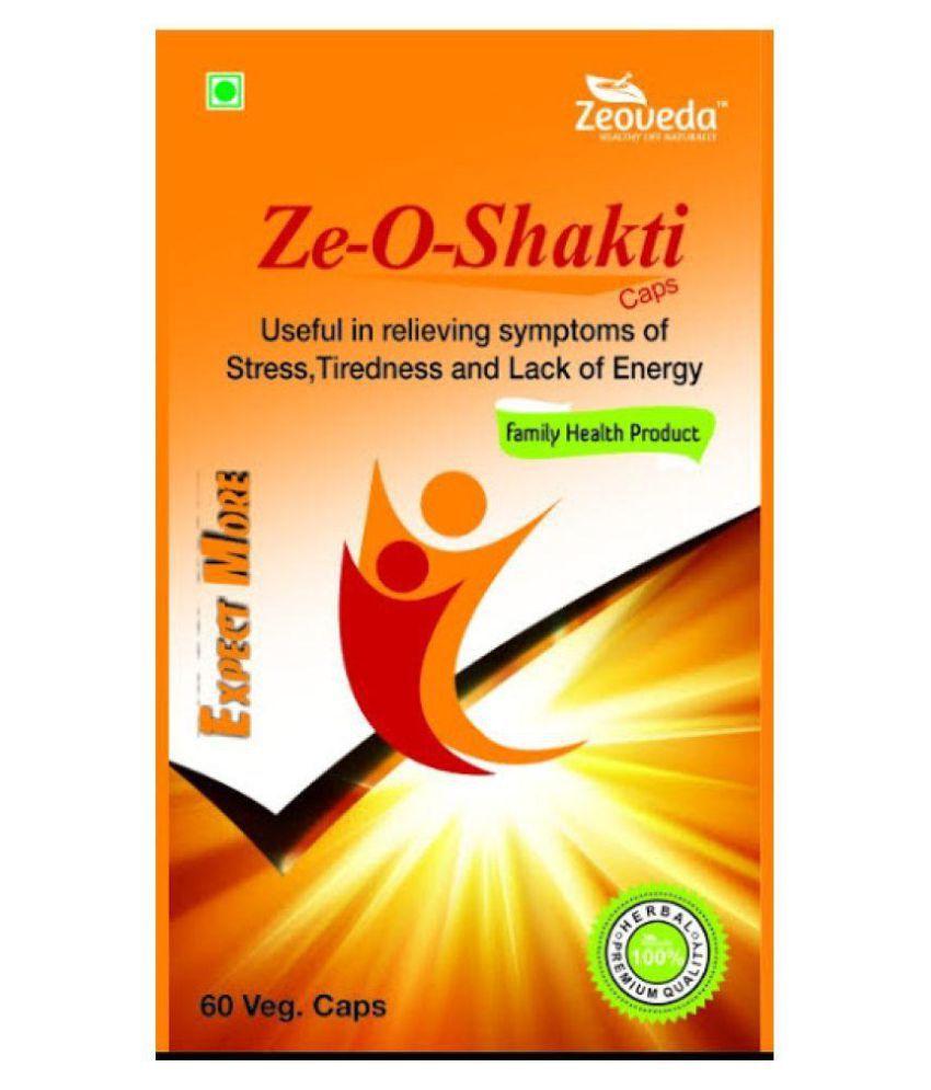zeoveda herbals Zeoveda Zeo Shakti Capsule 60 gm Pack Of 1