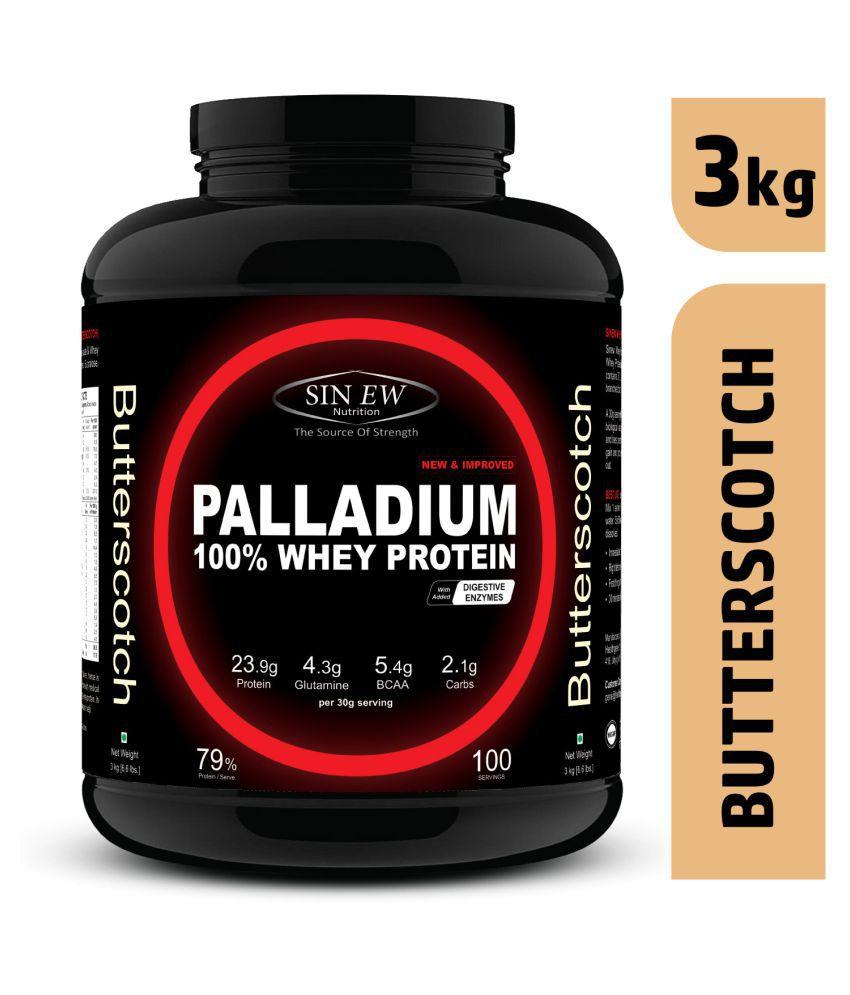 Sinew Nutrition Palladium Whey Protein (Butterscotch) 3 kg