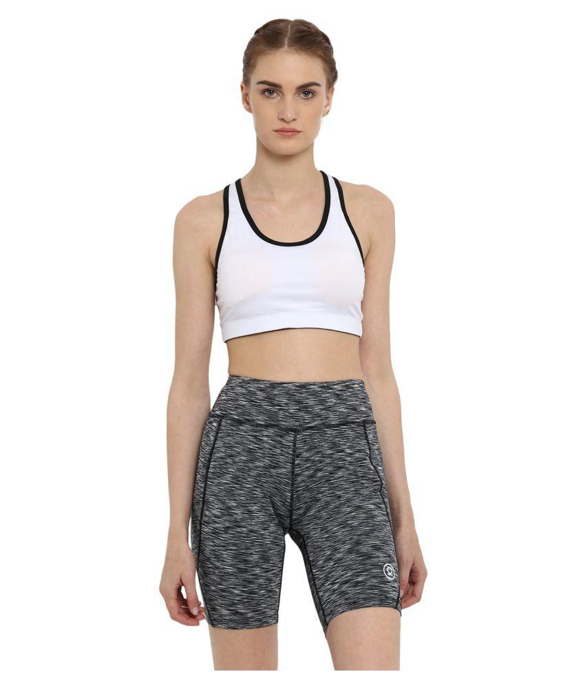 CHKOKKO Sports, Gym, Running Racer Back Non Wired Padded Sports Bra for Women