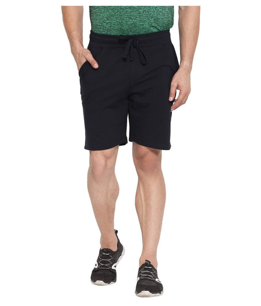 CHKOKKO Regular Casual Gym Wear Slim Fit Shorts for Men
