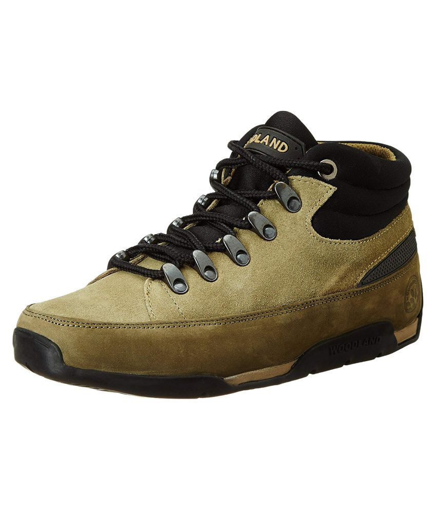 Woodland Olive Casual Boot