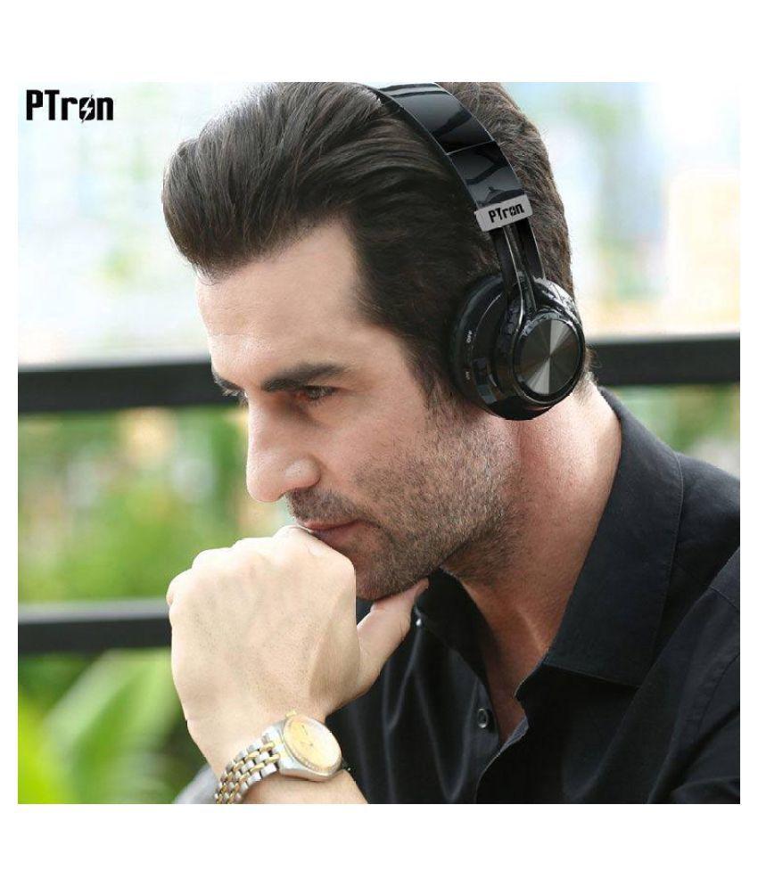 5cab923d75c PTron Kicks Bluetooth Headset - Black - Buy PTron Kicks Bluetooth ...
