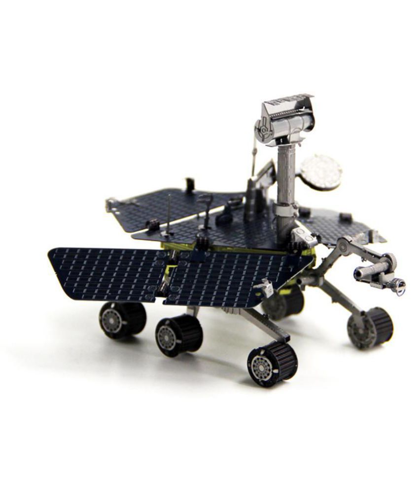 Aipin DIY 3D Metal Mars Rover Puzzle Stainless Steel Model