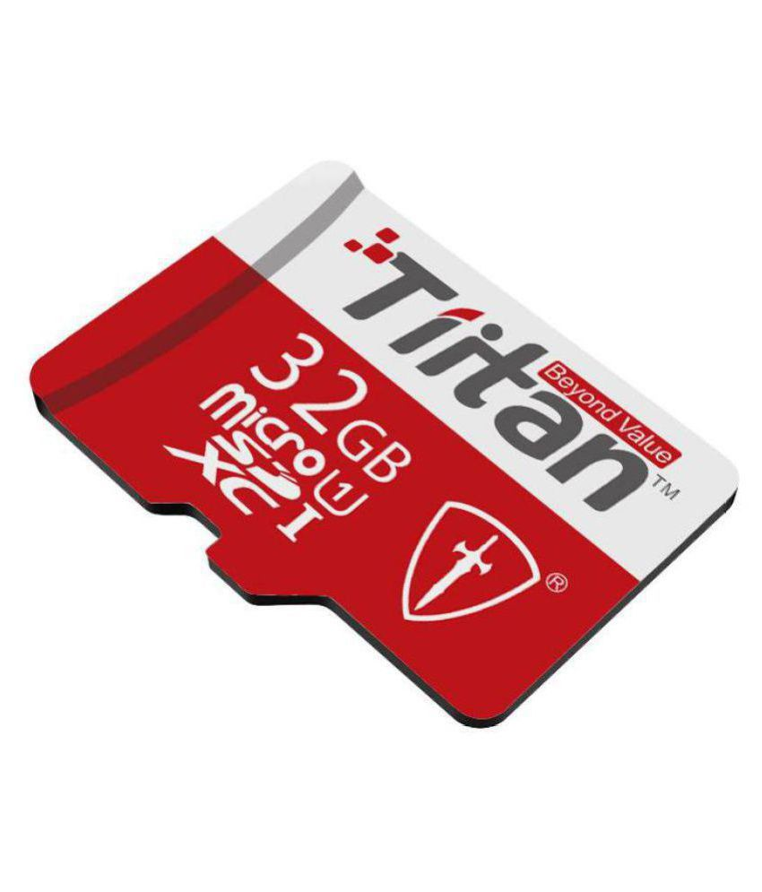 TIITAN 32 GB UHS Class 1 Memory Card