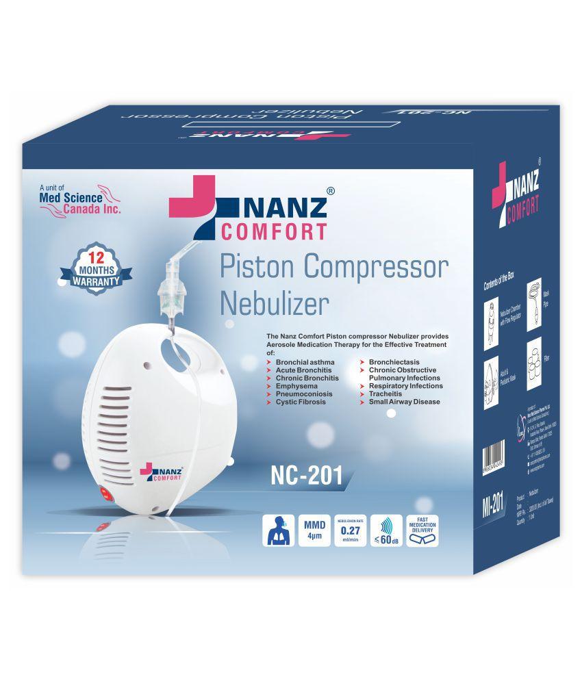 nanz comfort Compressor Nebulizer NC-201
