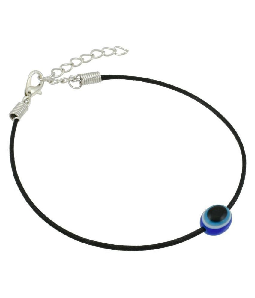 High Trendz Stylish Black Thread Evil Eye Anklet For Women And Girls