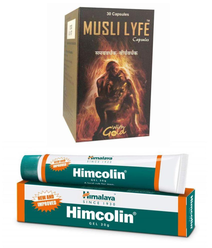 G & G Pharmacy Musli Lyfe 30 Capsule_Himcolin Gel 30 gm