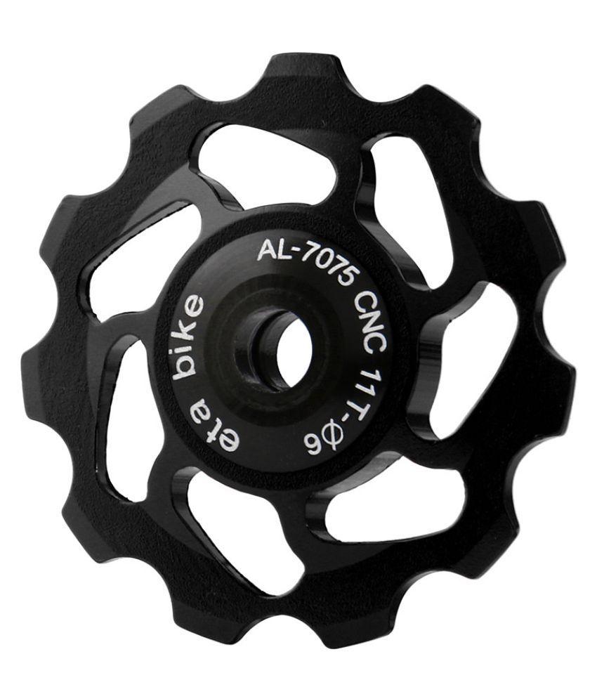 11T Bike Bicycle Wheel Rear Derailleur Aluminum Alloy Bike Ceramic Bearing Parts