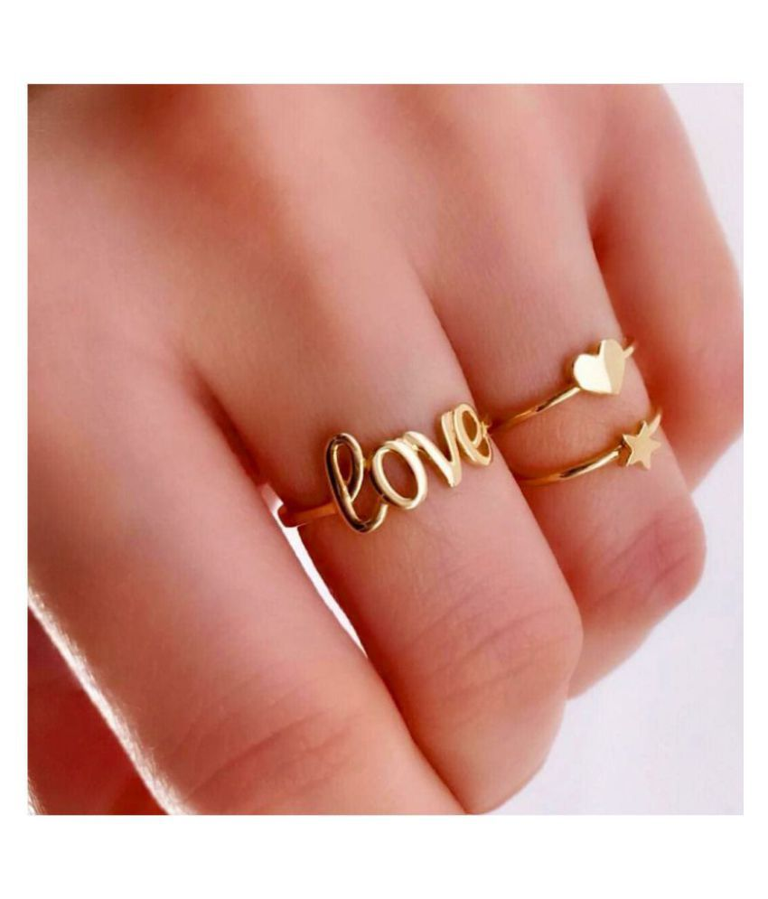Darshini Designs party wear ring for women .