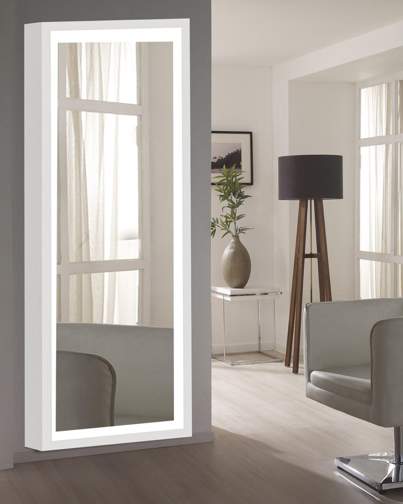 Elegant Arts & Frames Mirror Wall Mirror ( 152 x 50 cms ) - Pack of 1