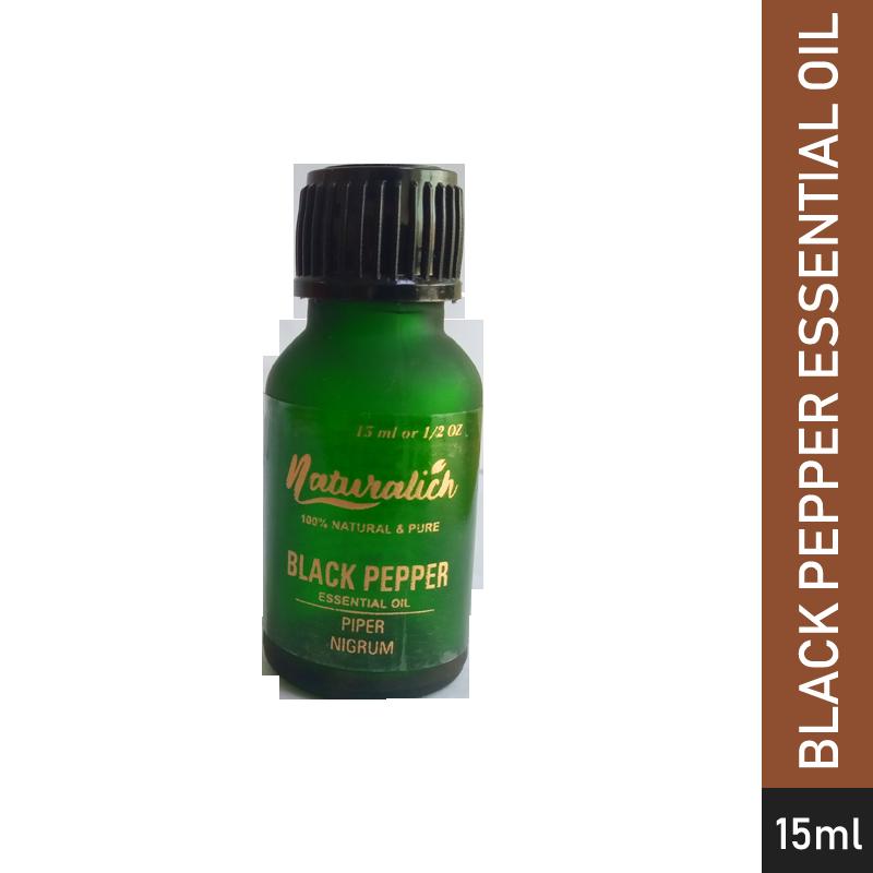 Naturalich Black Pepper Essential Oil 15 mL