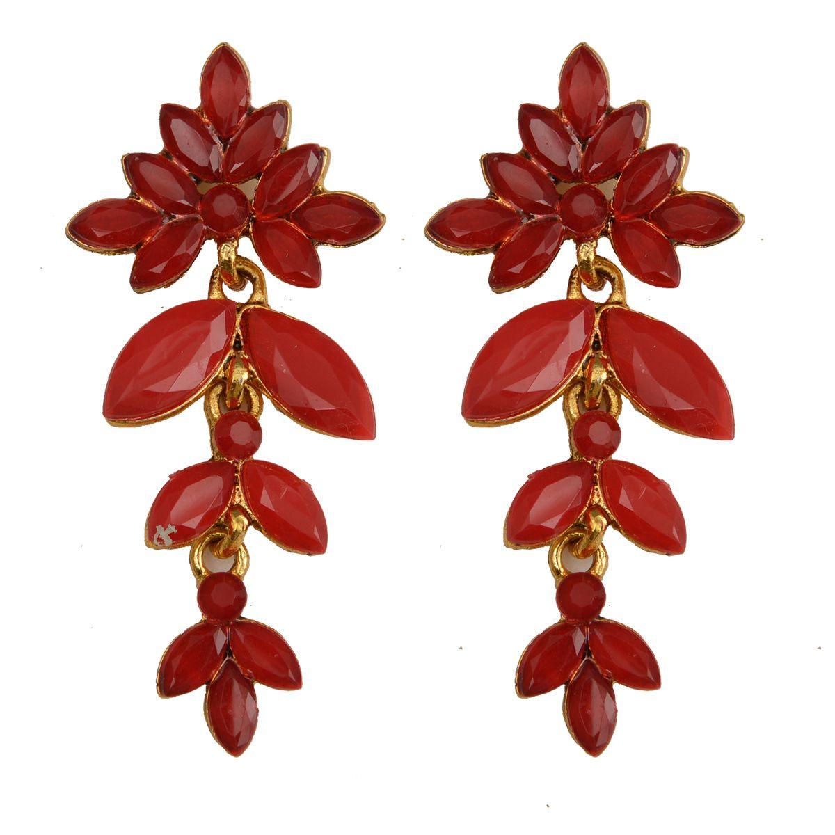 Rabia Taj Pearl Designer Drop dangle earrings