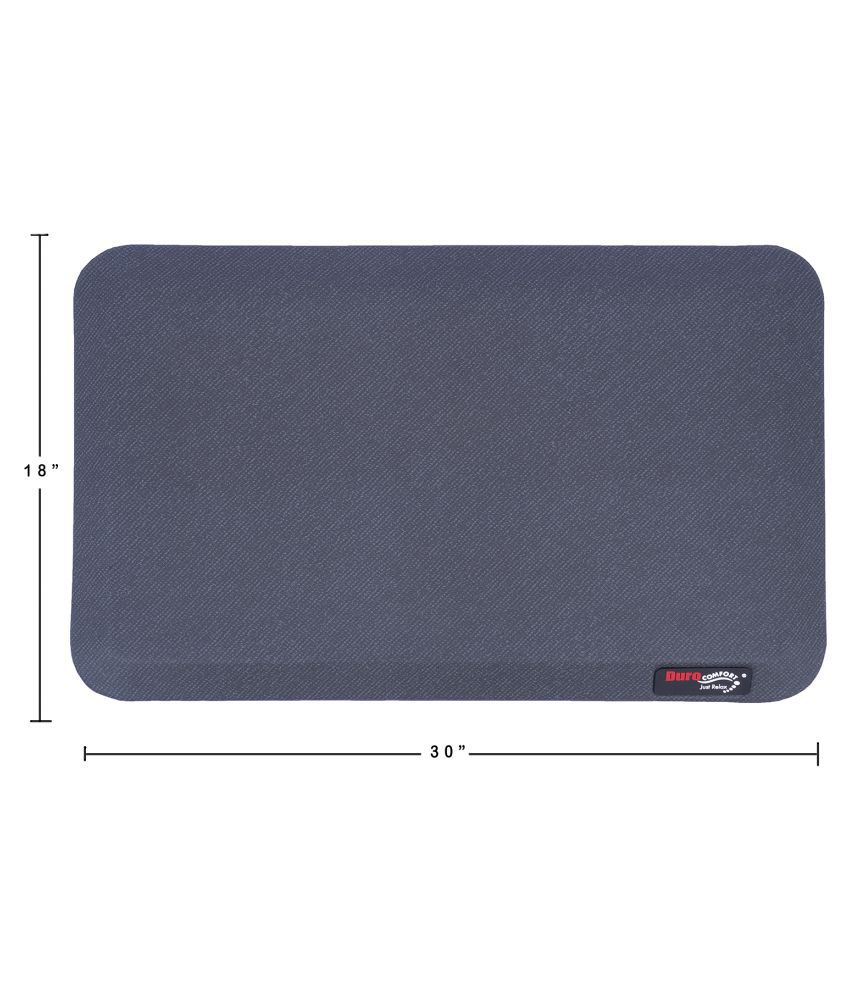Duro COMFORT Just Relax Gray Single Floor Mat