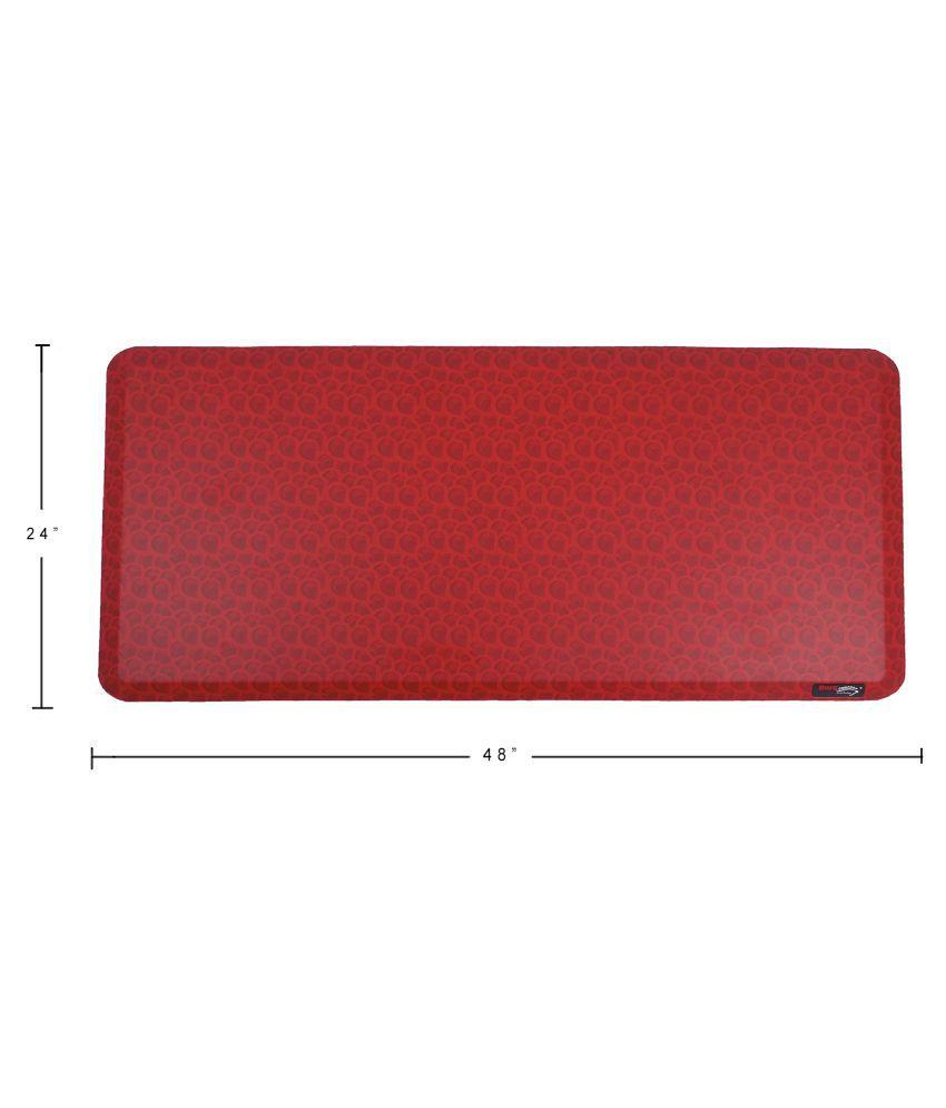 Duro COMFORT Just Relax Red Single Floor Mat