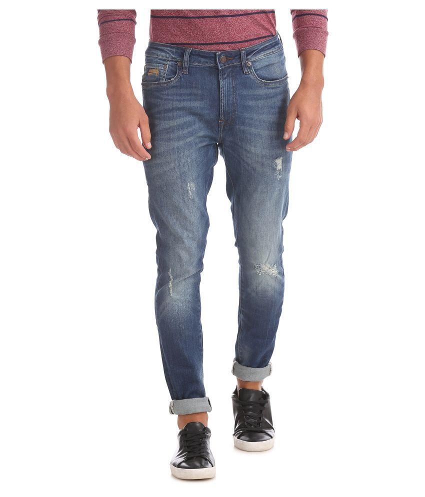 Aeropostale Blue Super Skinny Jeans