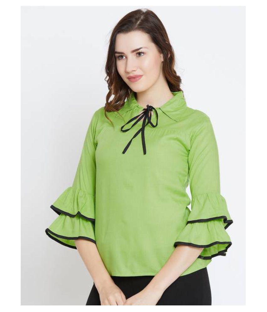 Bombay Clothing Company Cotton Tunics - Green