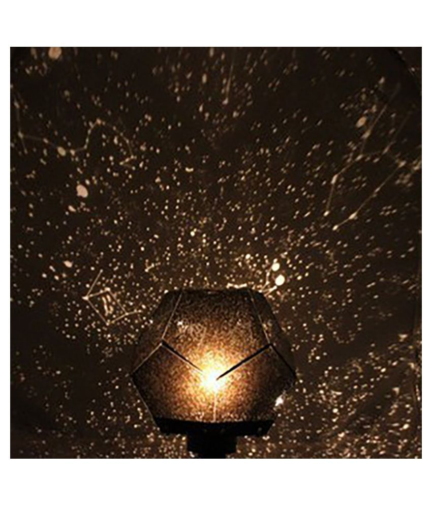 Romantic Astro Planetarium Star Celestial Projector Cosmos Light Night Sky Lamp gold