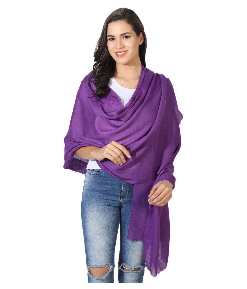 MUFFLY Purple Shawl