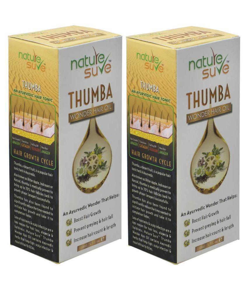 Nature Sure Thumba Wonder Hair Oil 220 mL Pack of 2