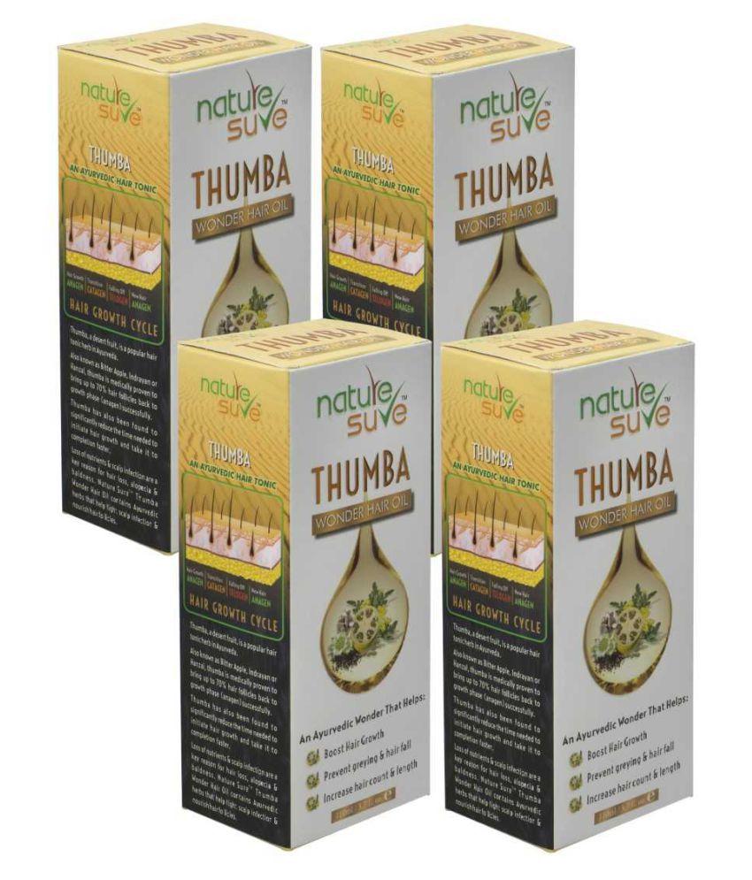 Nature Sure Thumba Wonder Hair Oil (440ml) 420 mL Pack of 4