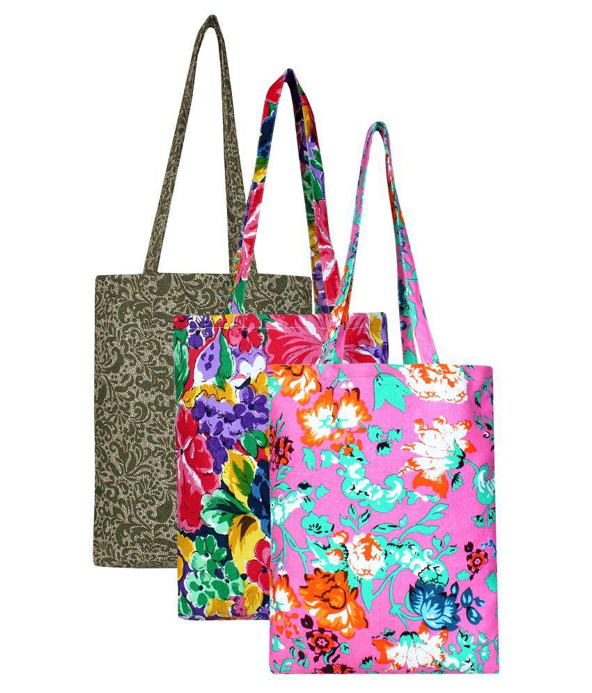 Anekaant Multi Canvas Shoulder Bag