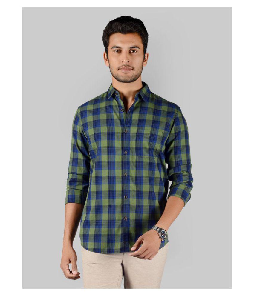 JadeBlue 100 Percent Cotton Multi Checks Shirt