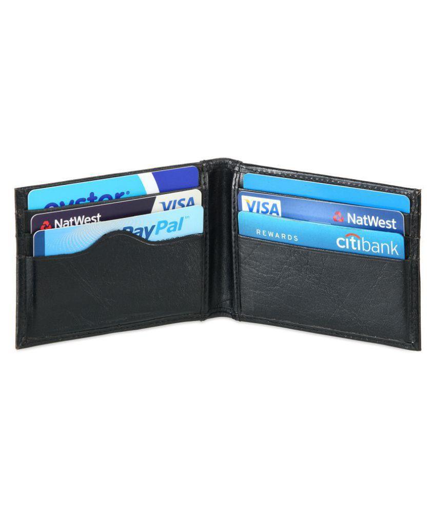 Men's Slim Soft Leather Credit Card Wallet