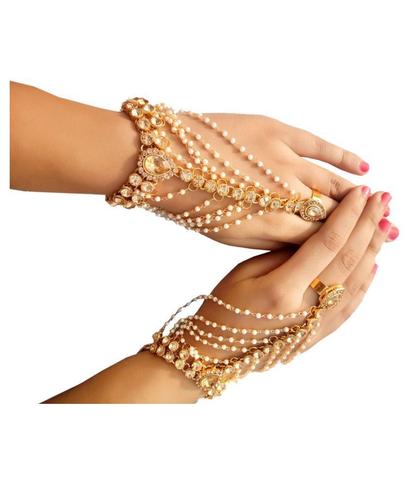 Womensky hand bracelet bangle style set for women and girl