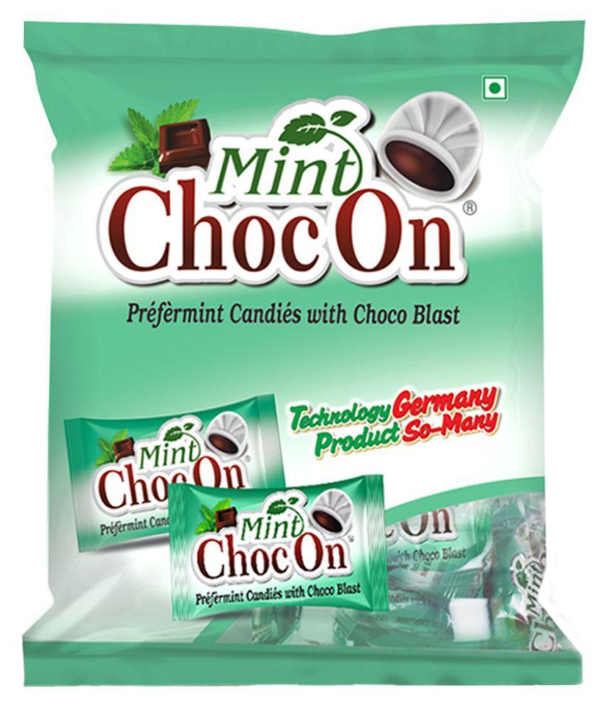 Mahak Mint & Chocolate Hard Candies 500 gm Pack of 2